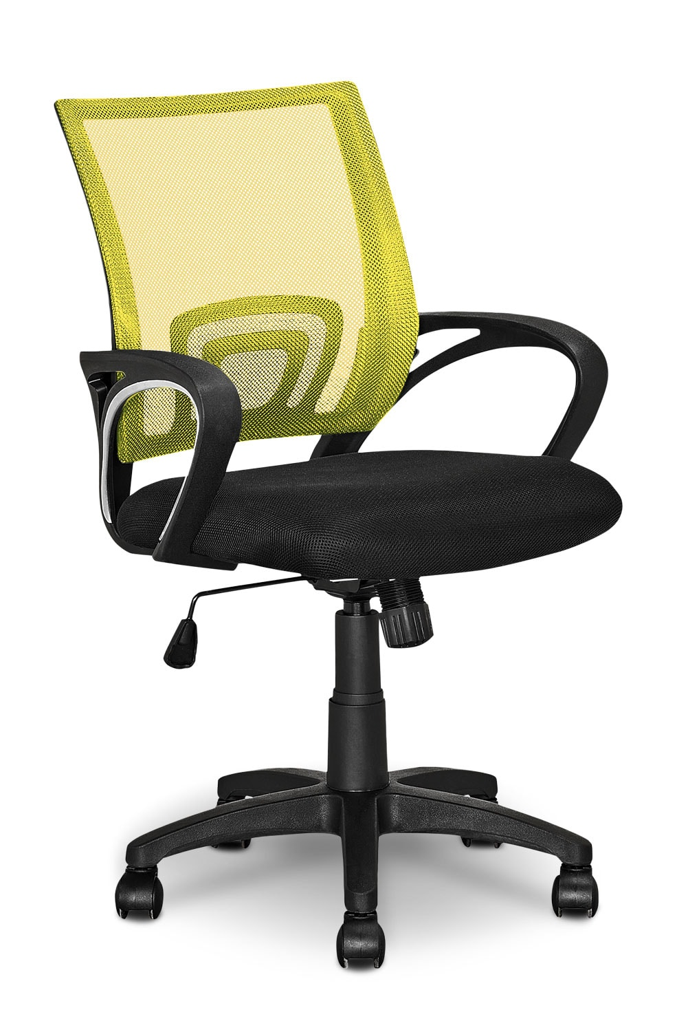 Loft Mesh Office Chair – Yellow