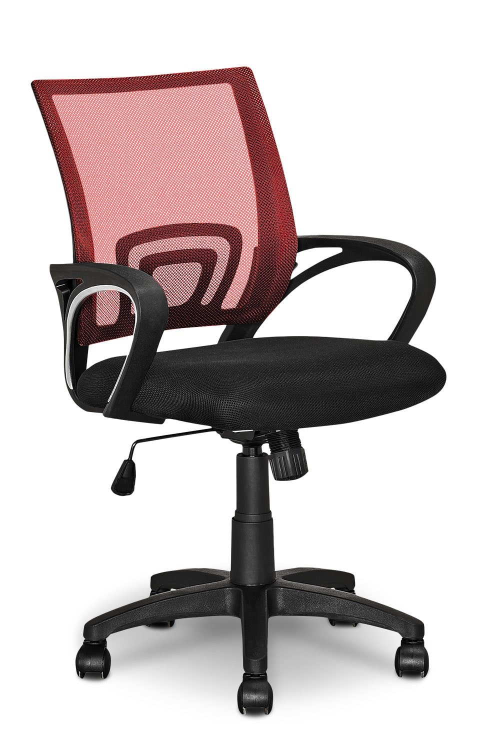 Loft Mesh Office Chair – Red