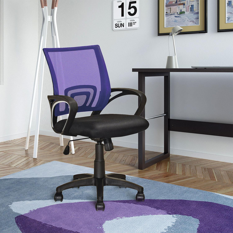 Loft Mesh Office Chair Purple United Furniture Warehouse