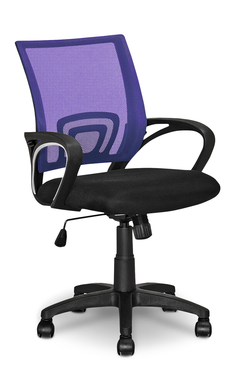 Loft Mesh Office Chair – Purple