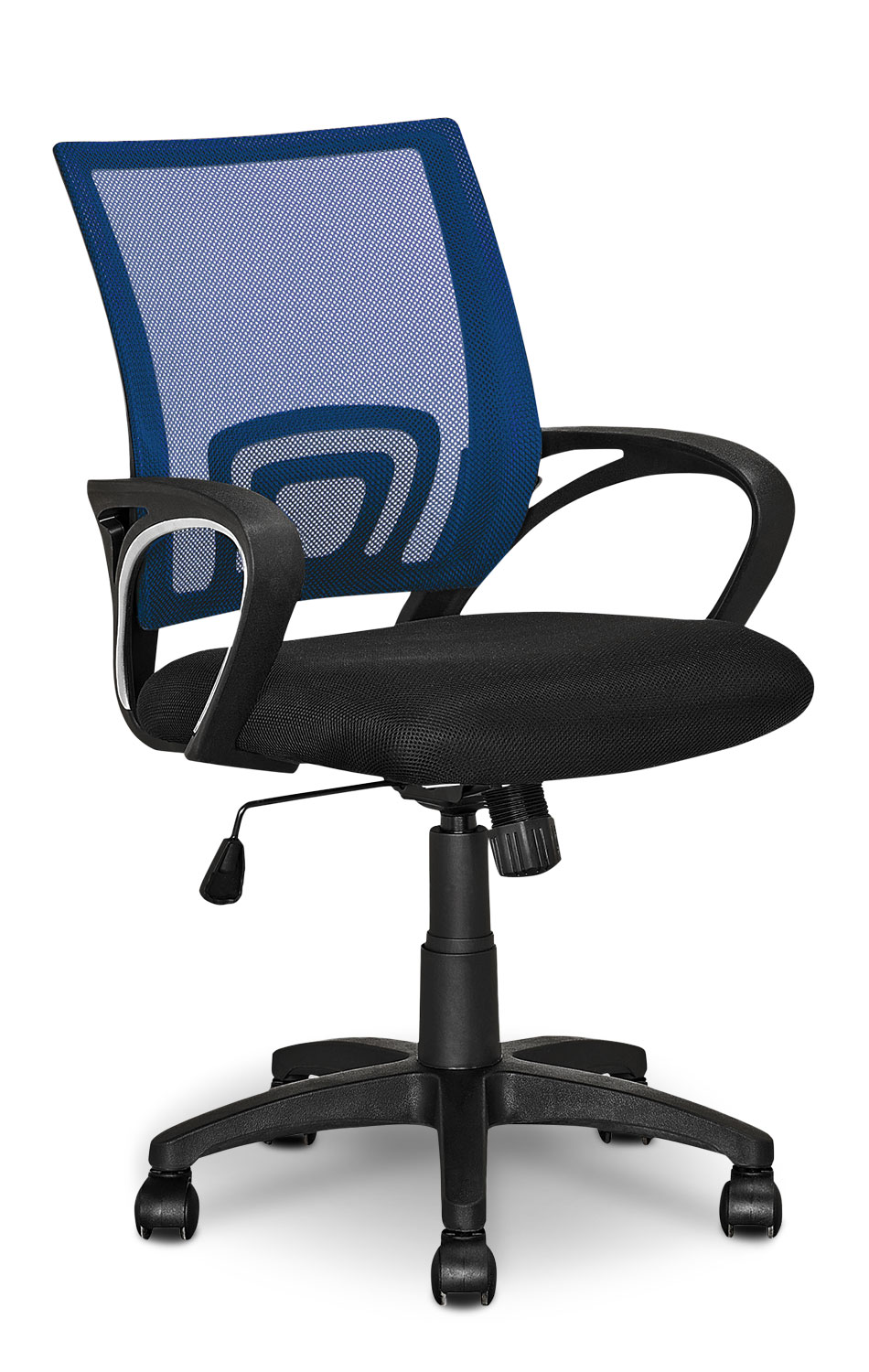 Home Office Furniture - Loft Mesh Office Chair – Dark Blue