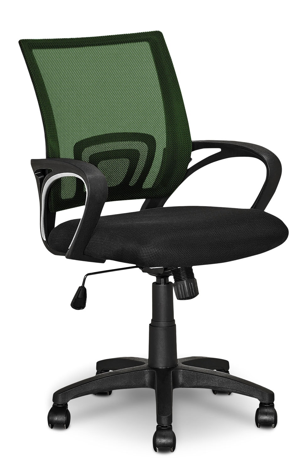 Loft Mesh Office Chair – Dark Green
