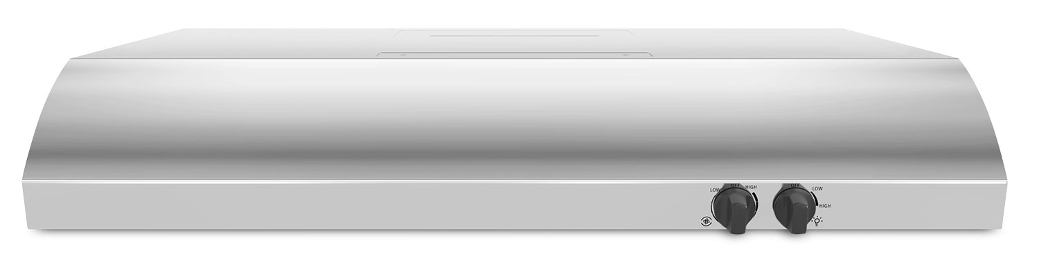 "Whirlpool 30"" Under-the-Cabinet Range Hood with FIT System – UXT4230ADS"
