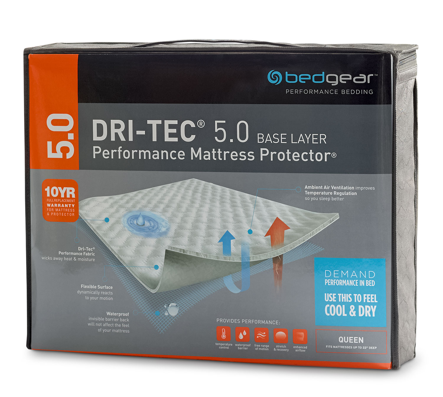 Dri-Tec® Mattress Protector - King