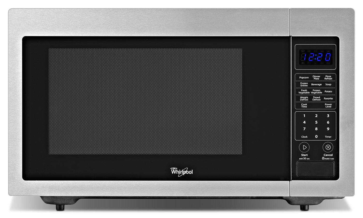 Whirlpool Stainless Steel Countertop Microwave (1.6 Cu. Ft.) - YWMC30516DS