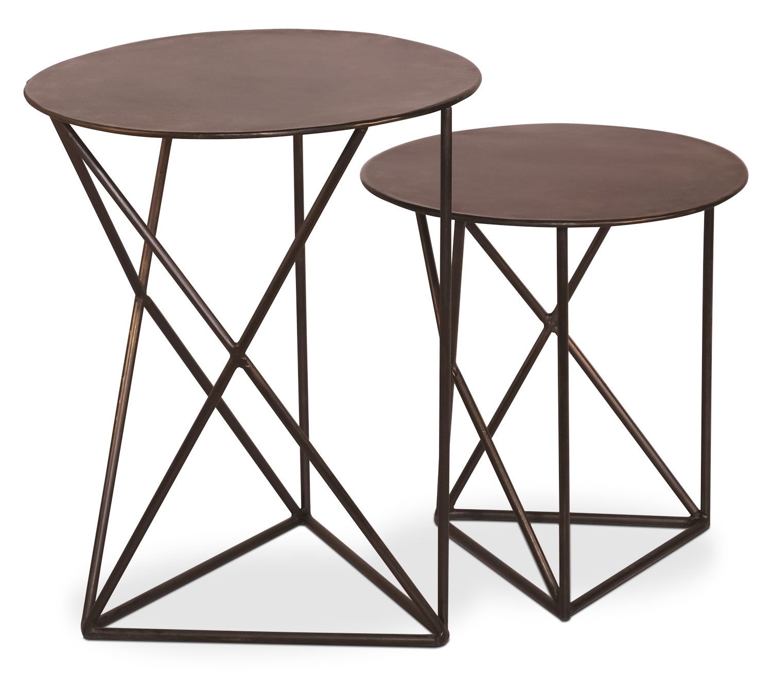 Accent and Occasional Furniture - Dunbar Accent Table – Set of 2