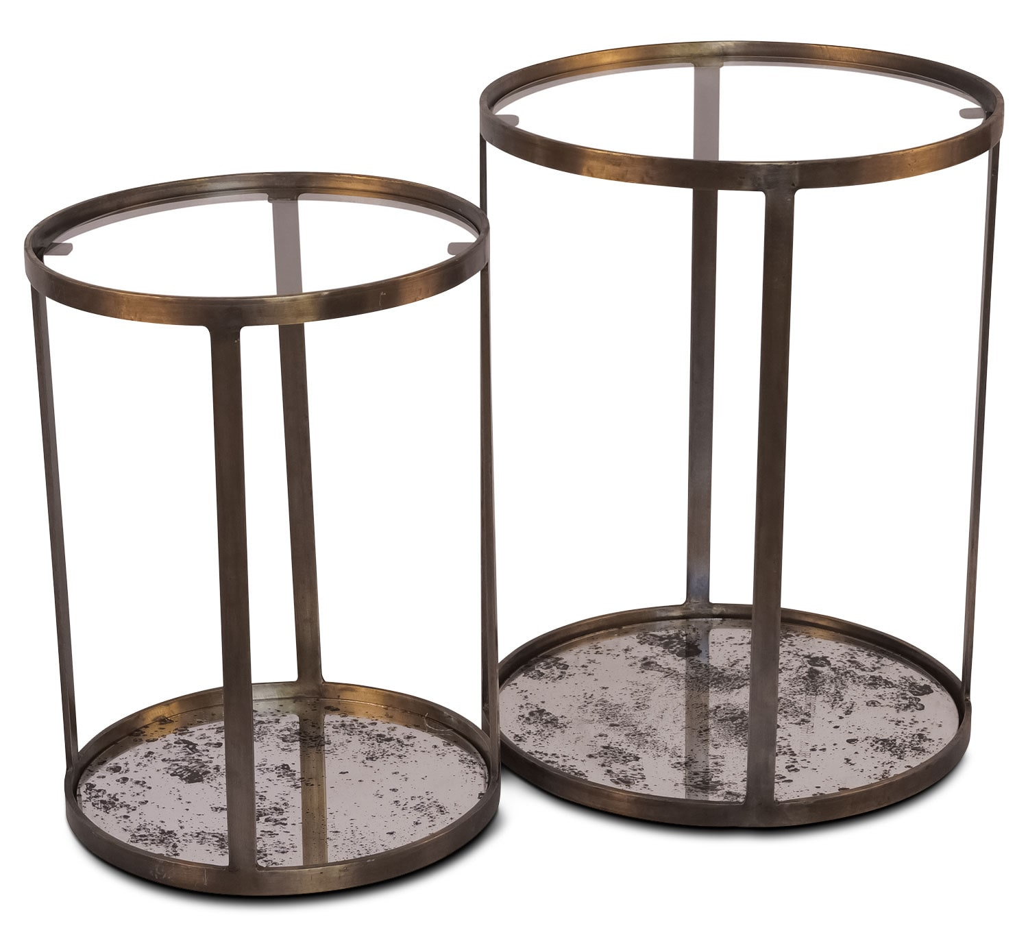 Accent and Occasional Furniture - Foxford Accent Table – Set of 2
