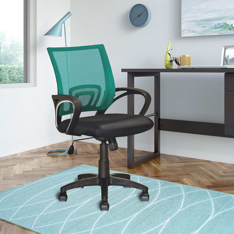 Loft Mesh Office Chair – Teal   The Brick