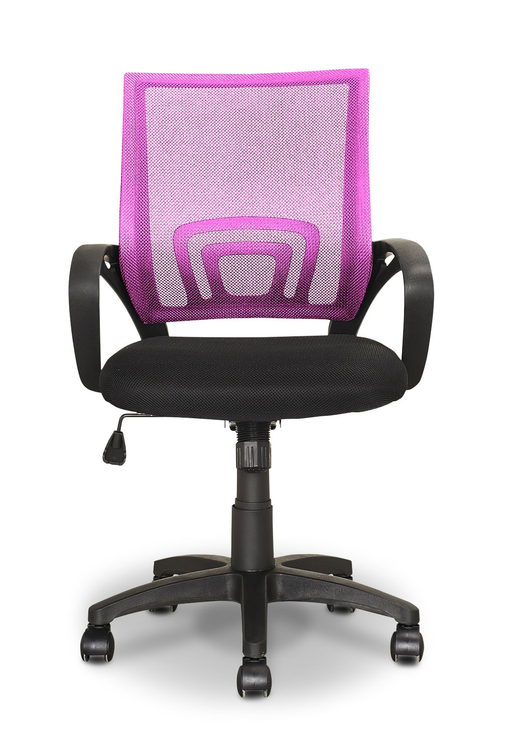 Loft Mesh Office Chair Pink The Brick