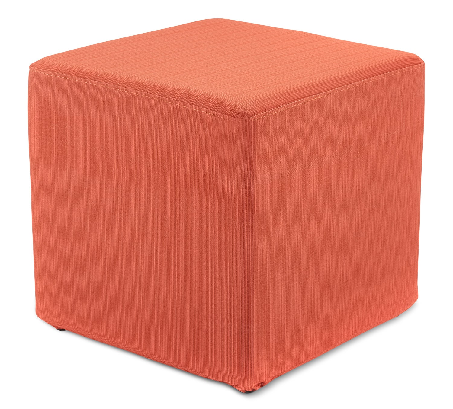 Outdoor Furniture - Sasha Outdoor Ottoman - Orange