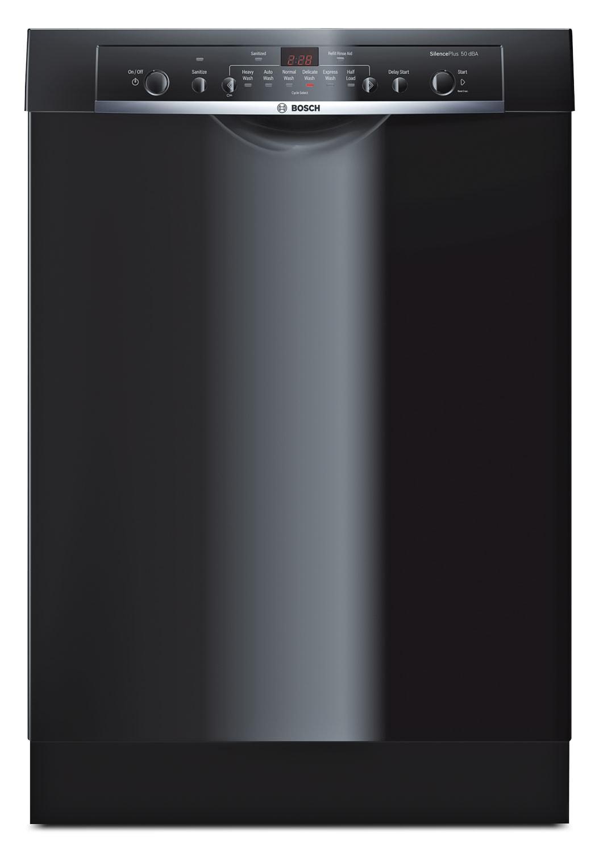 """Bosch Black 24"""" Dishwasher - SHE3AR76UC"""