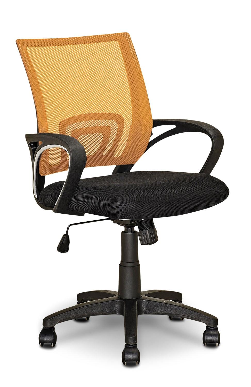 120 chaise de bureau orange chaise de bureau cult living barclay dossier mince chaise de. Black Bedroom Furniture Sets. Home Design Ideas