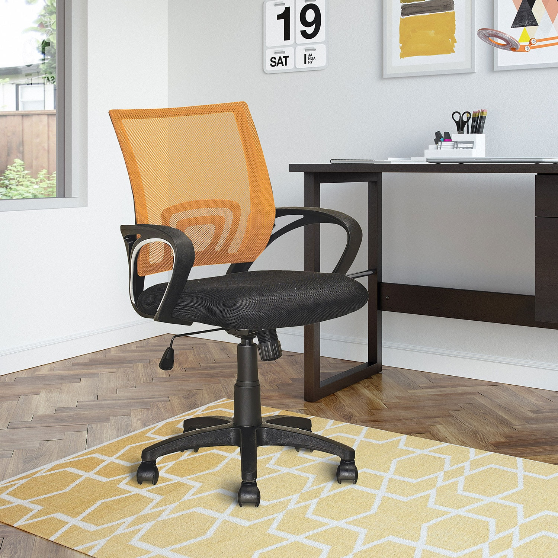 Loft Mesh Office Chair Orange United Furniture Warehouse