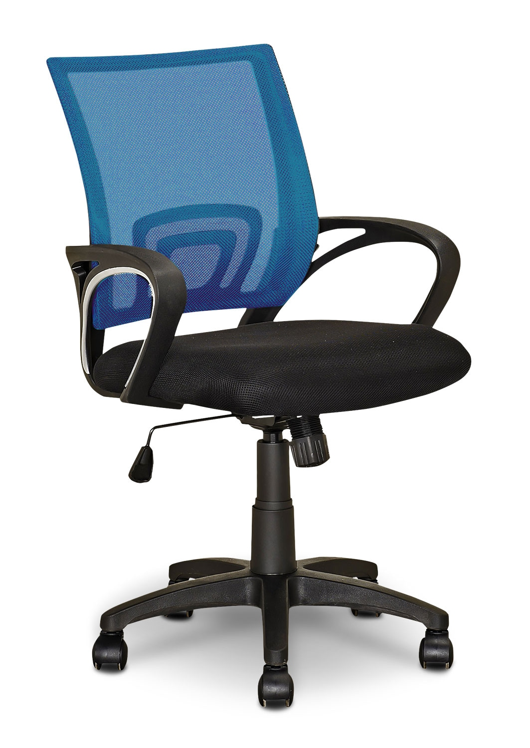 Loft Mesh Office Chair – Light Blue