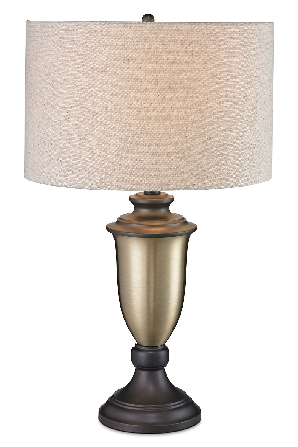 Antiqued Gold with Bronze-Plating Table Lamp