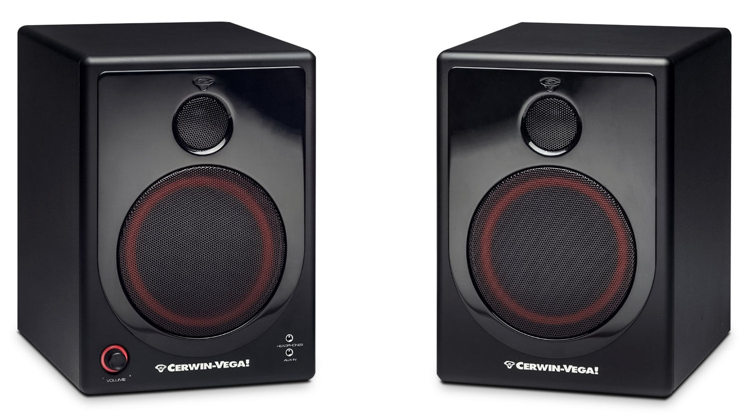 "Sound Systems - Cerwin-Vega 5"" 2-Way Powered Desktop Speakers - XD5"