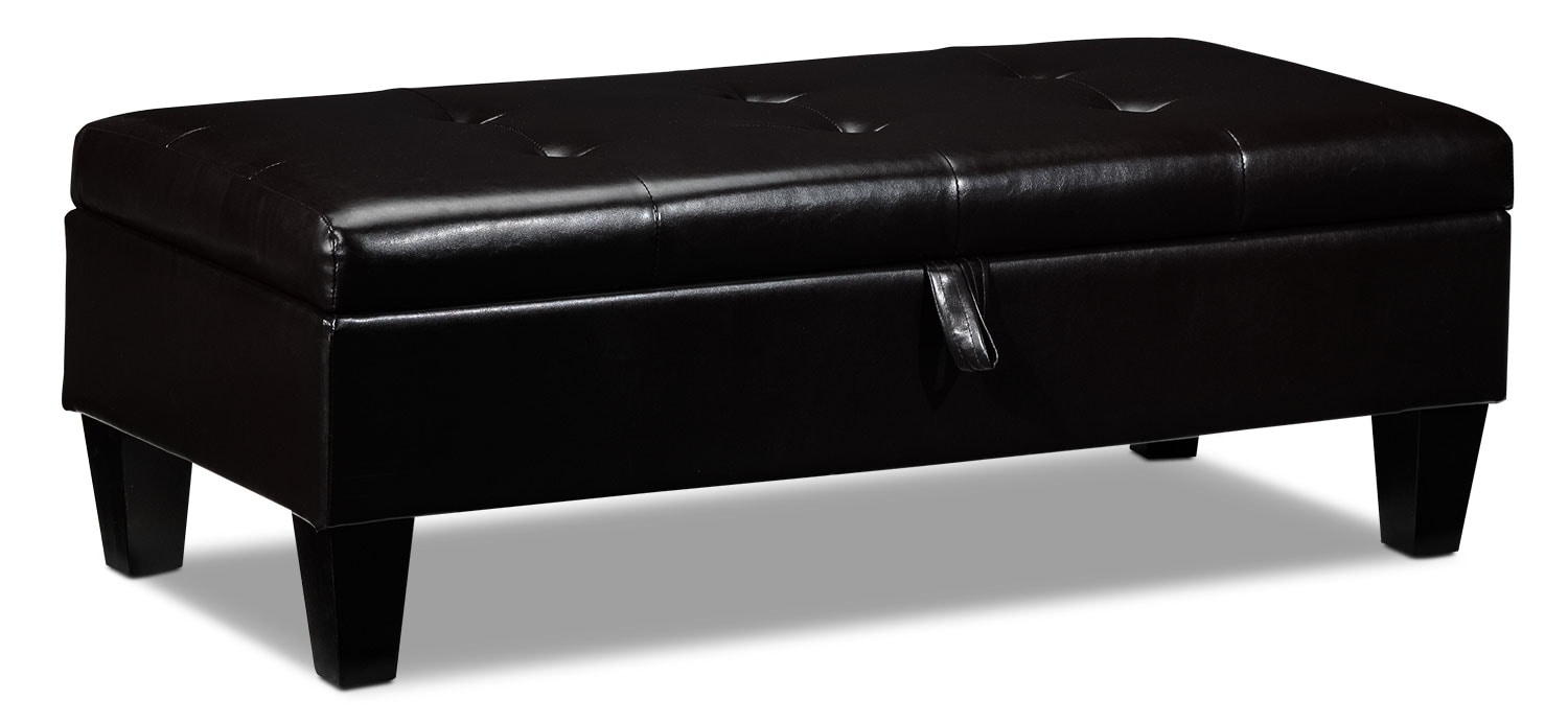 Accent and Occasional Furniture - Bayou Storage Ottoman
