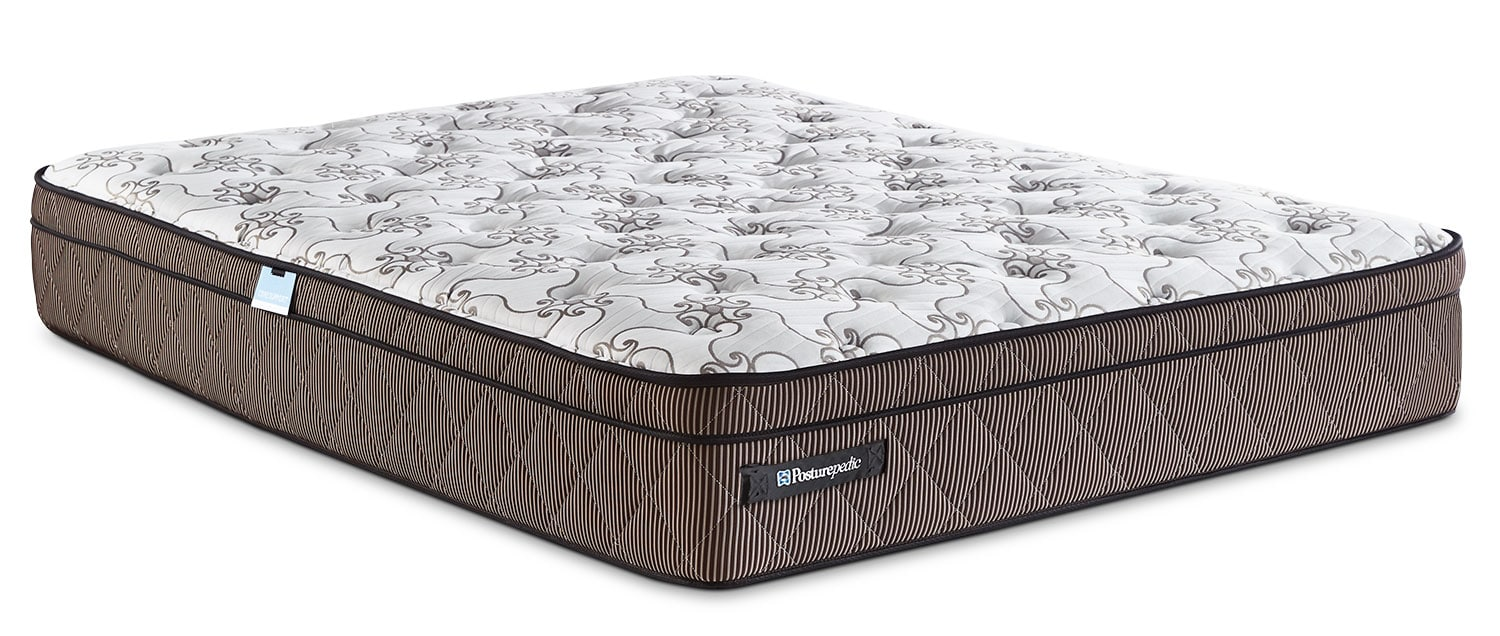 Mattresses and Bedding - Sealy Posturepedic Crown Jewel Raybeck Euro-Top Full XL Mattress