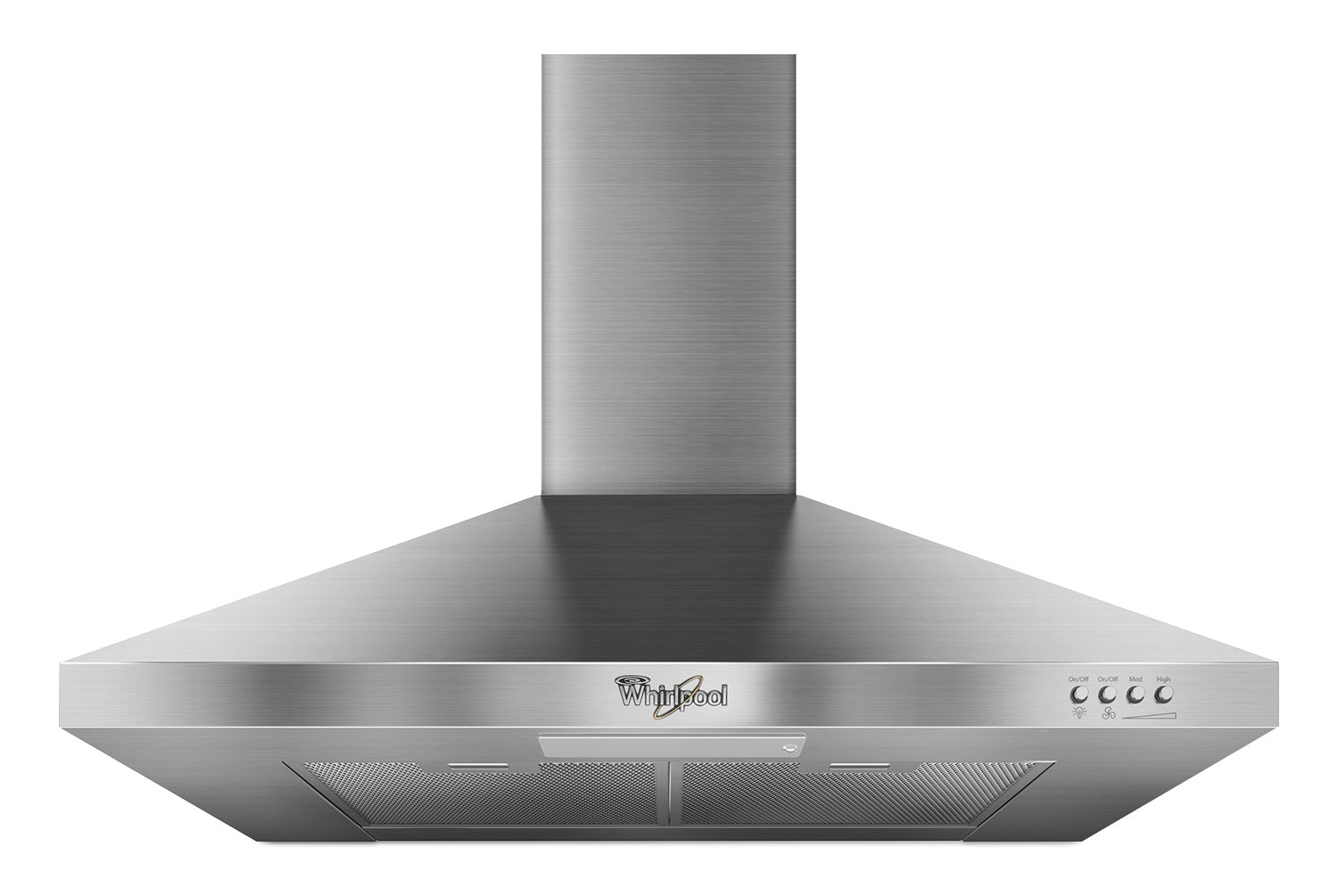 "Cooking Products - Whirlpool Stainless Steel 30"" 300 CFM Range Hood - GXW7330DXS"