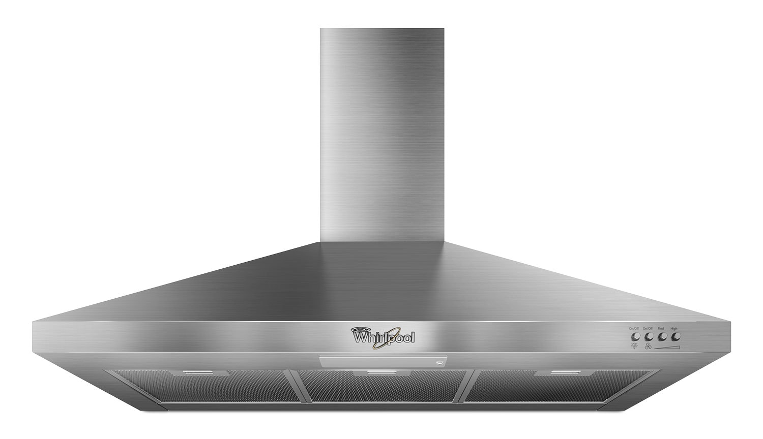 "Cooking Products - Whirlpool Stainless Steel 36"" 300 CFM Range Hood - GXW7336DXS"