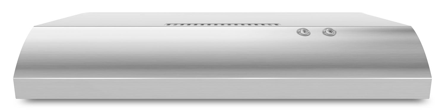 "Whirlpool 30"" Under-the-Cabinet Range Hood with the FIT System – UXT4030ADS"
