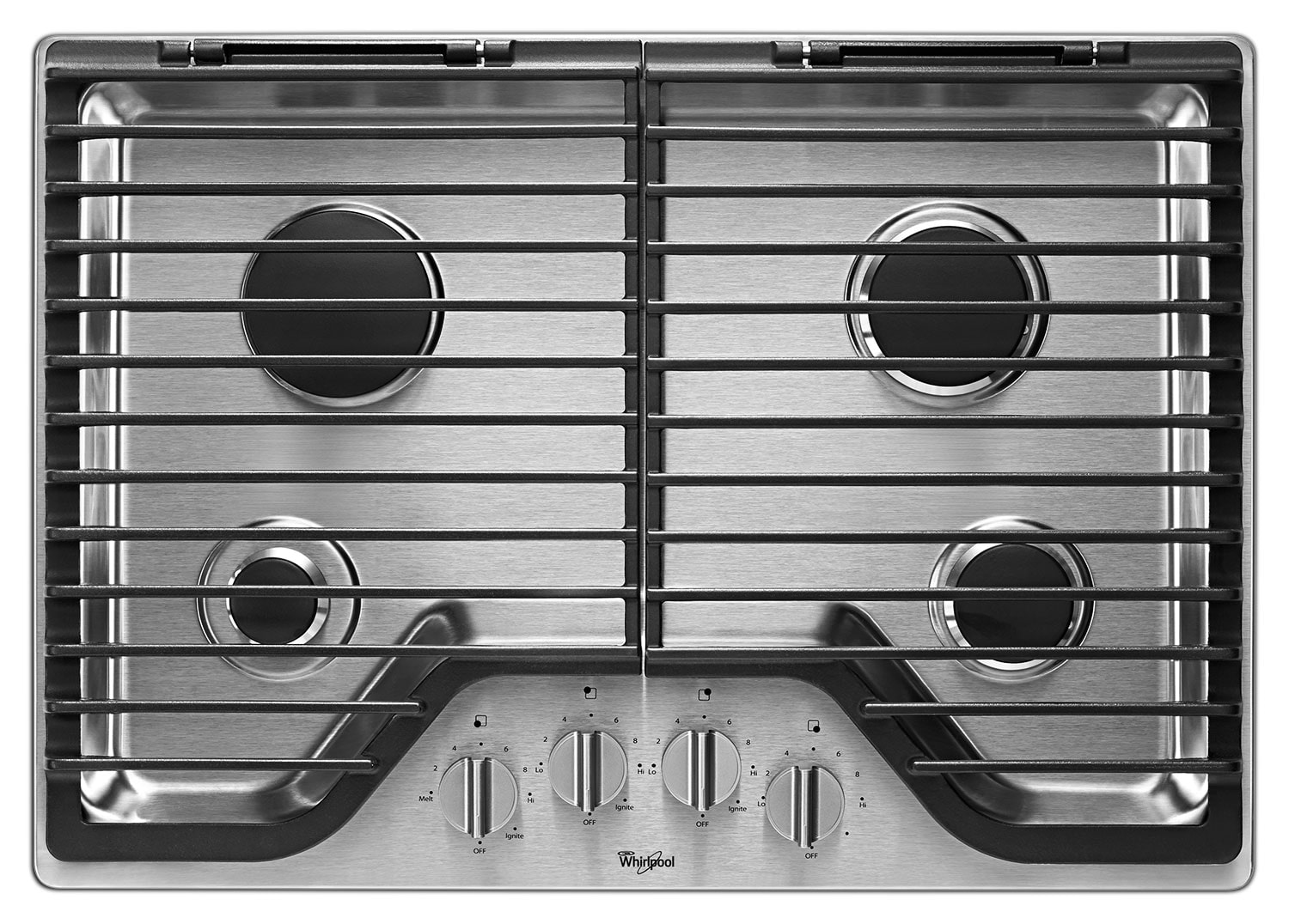 "Cooking Products - Whirlpool 30"" Gas Cooktop – WCG75US0DS"