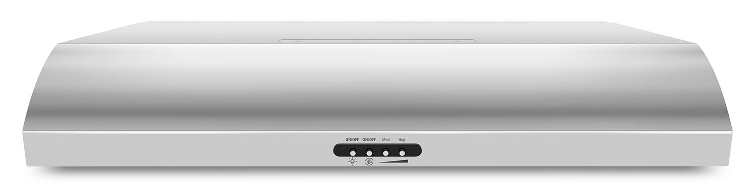 """Cooking Products - Whirlpool Stainless Steel 36"""" 350 CFM Range Hood - UXT5236BDS"""
