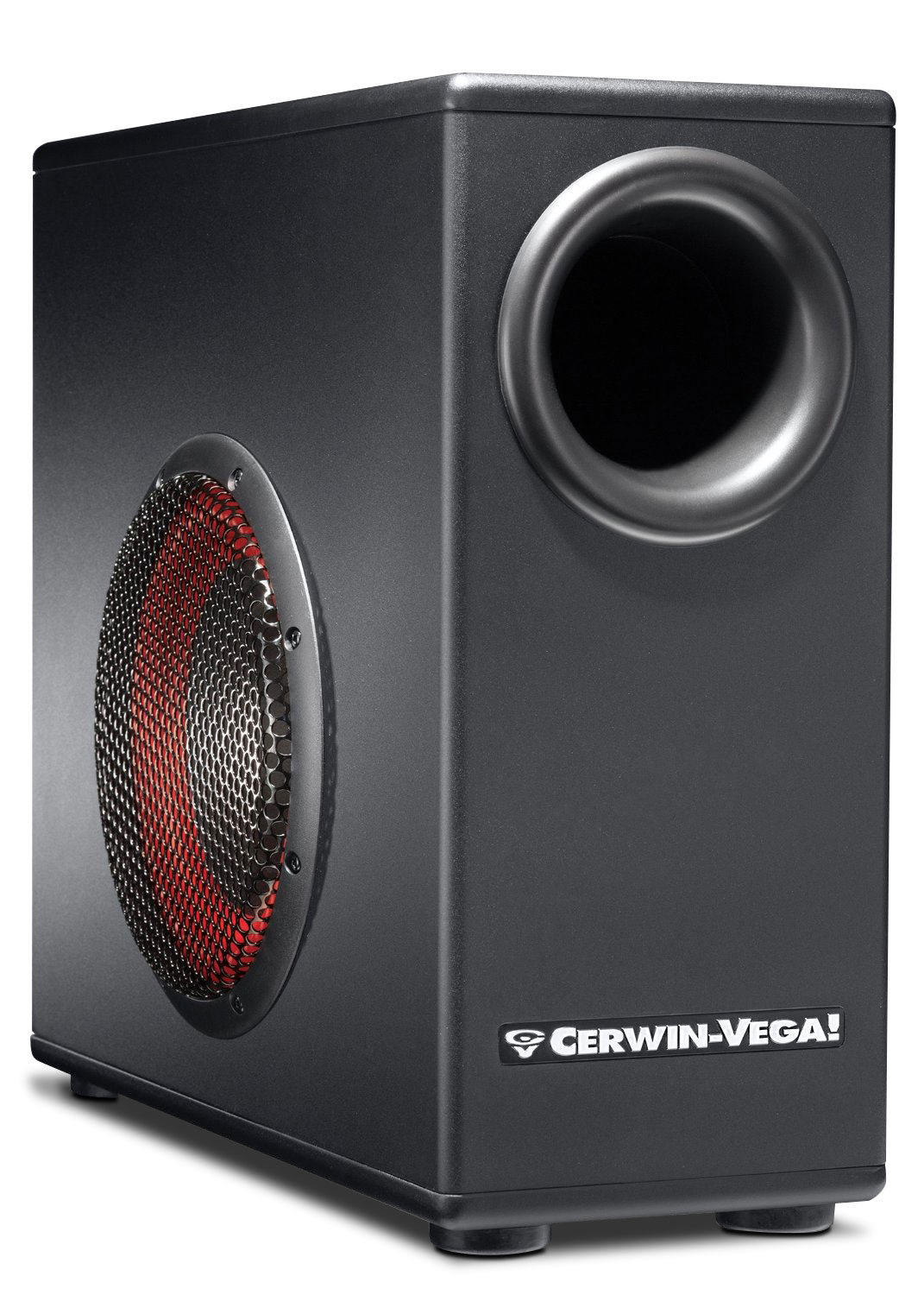 """Sound Systems - Cerwin-Vega 8"""" Subwoofer with Built-in Amplifier - XD8s"""