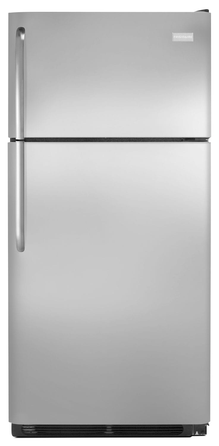 Refrigerators and Freezers - Frigidaire 18 Cu. Ft. Top Freezer Refrigerator – Stainless Steel