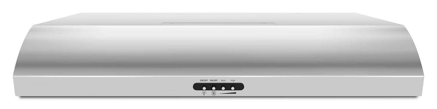 "Cooking Products - Whirlpool Stainless Steel 30"" 350 CFM Range Hood - UXT5230BDS"