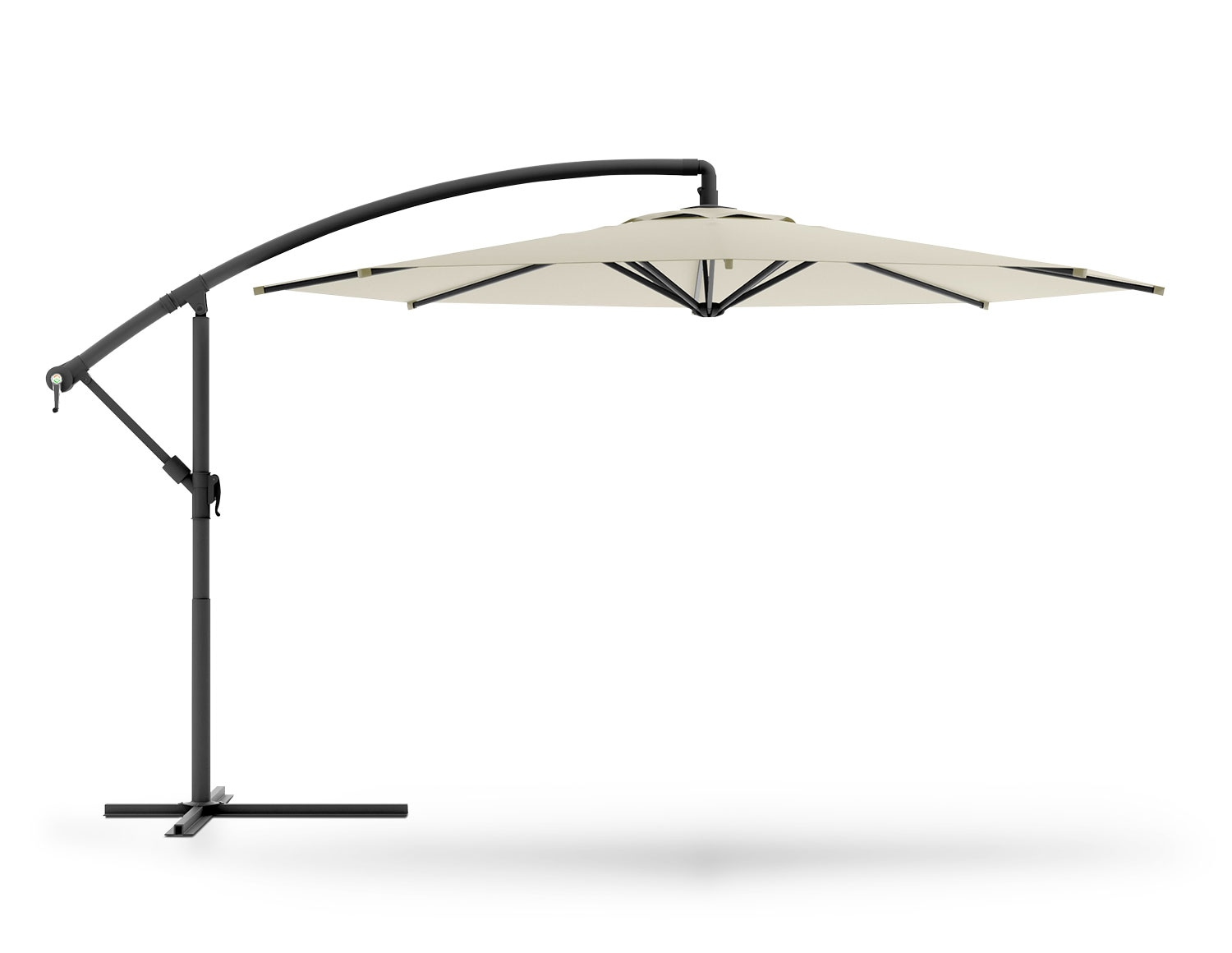 Outdoor Furniture - Perry Offset Umbrella - Warm White