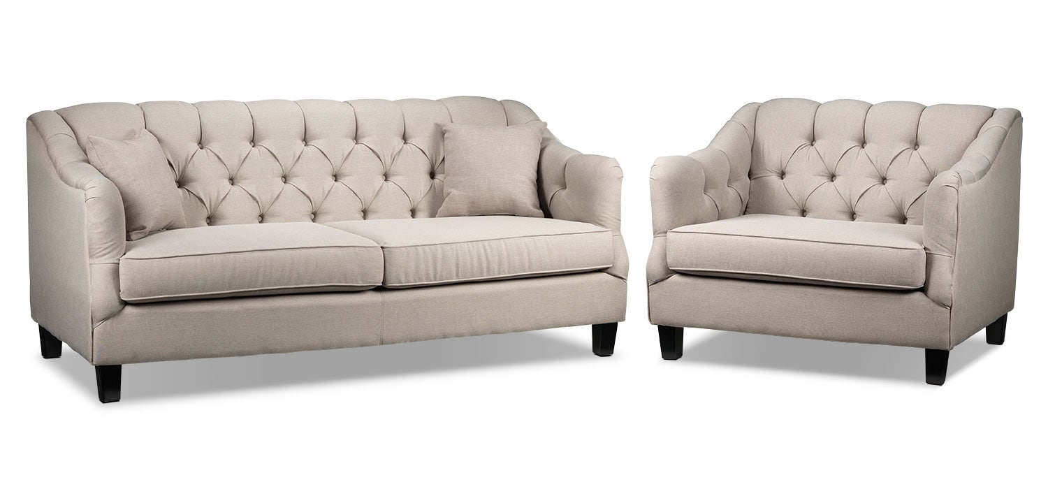 Auden Sofa and Chair and a Half Set
