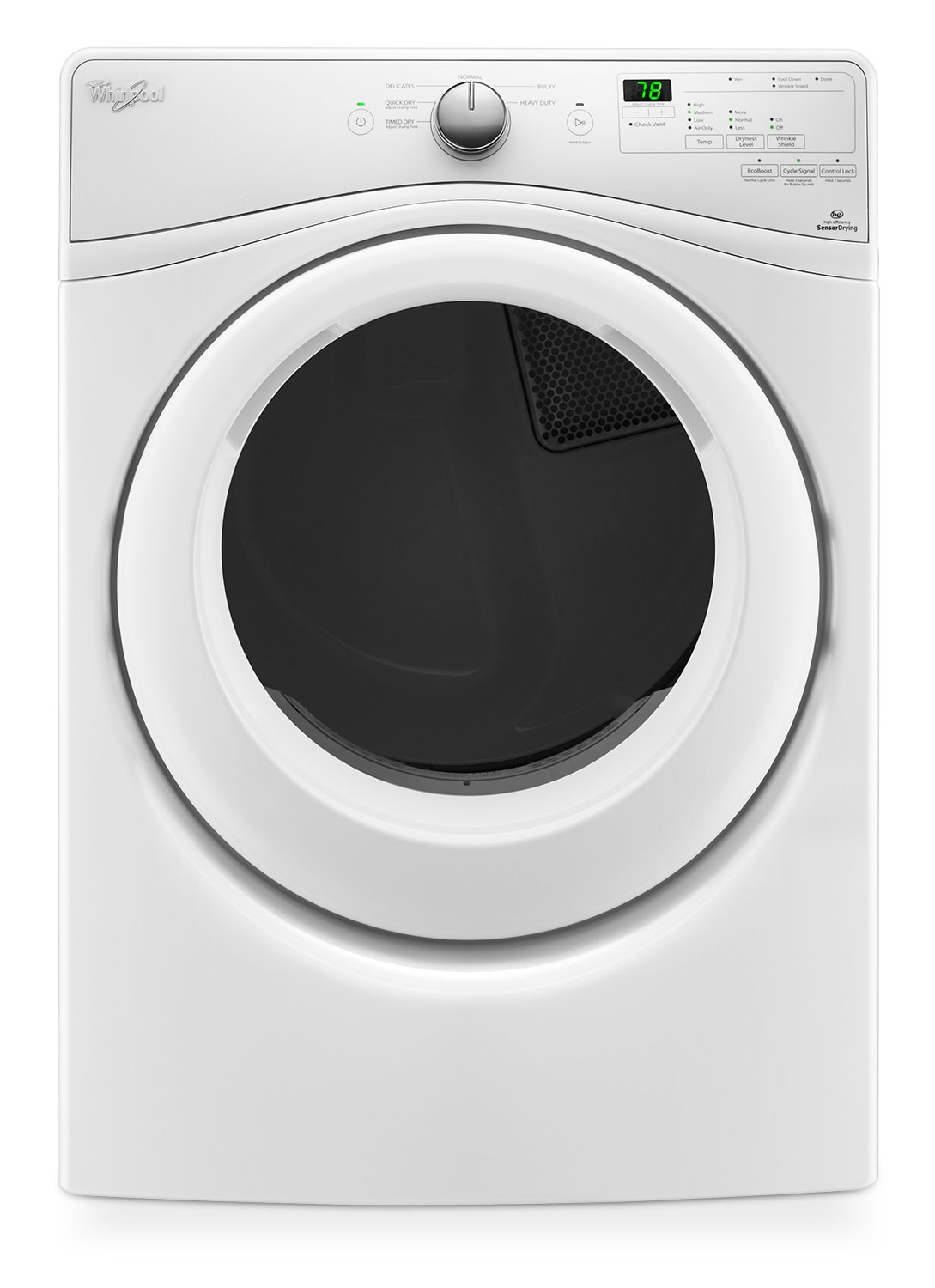 Whirlpool 7.4 Cu. Ft. Gas Dryer – WGD75HEFW