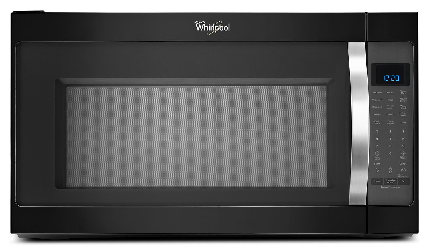 Whirlpool Black Over-the-Range Microwave (2.0 Cu. Ft.) - YWMH53520CB