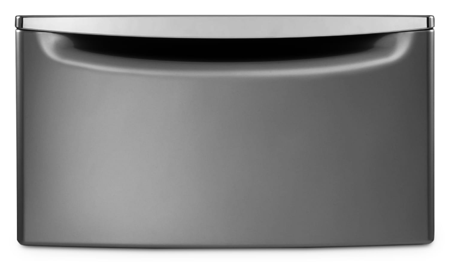 Washers and Dryers - Whirlpool Laundry Pedestal - Chrome Shadow