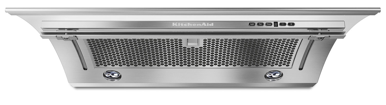"KitchenAid Stainless Steel 30"" 400 CFM Slide-Out Range Hood - KXU2830YSS"