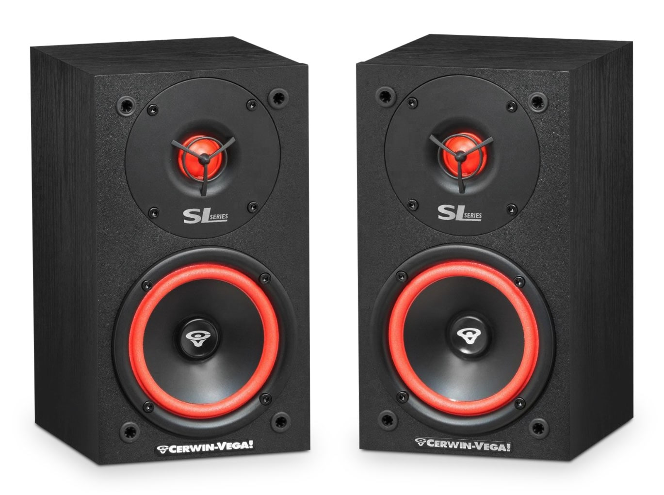 "Sound Systems - Cerwin-Vega 5 1/4"" 2-Way Bookshelf Speakers - SL-5M"