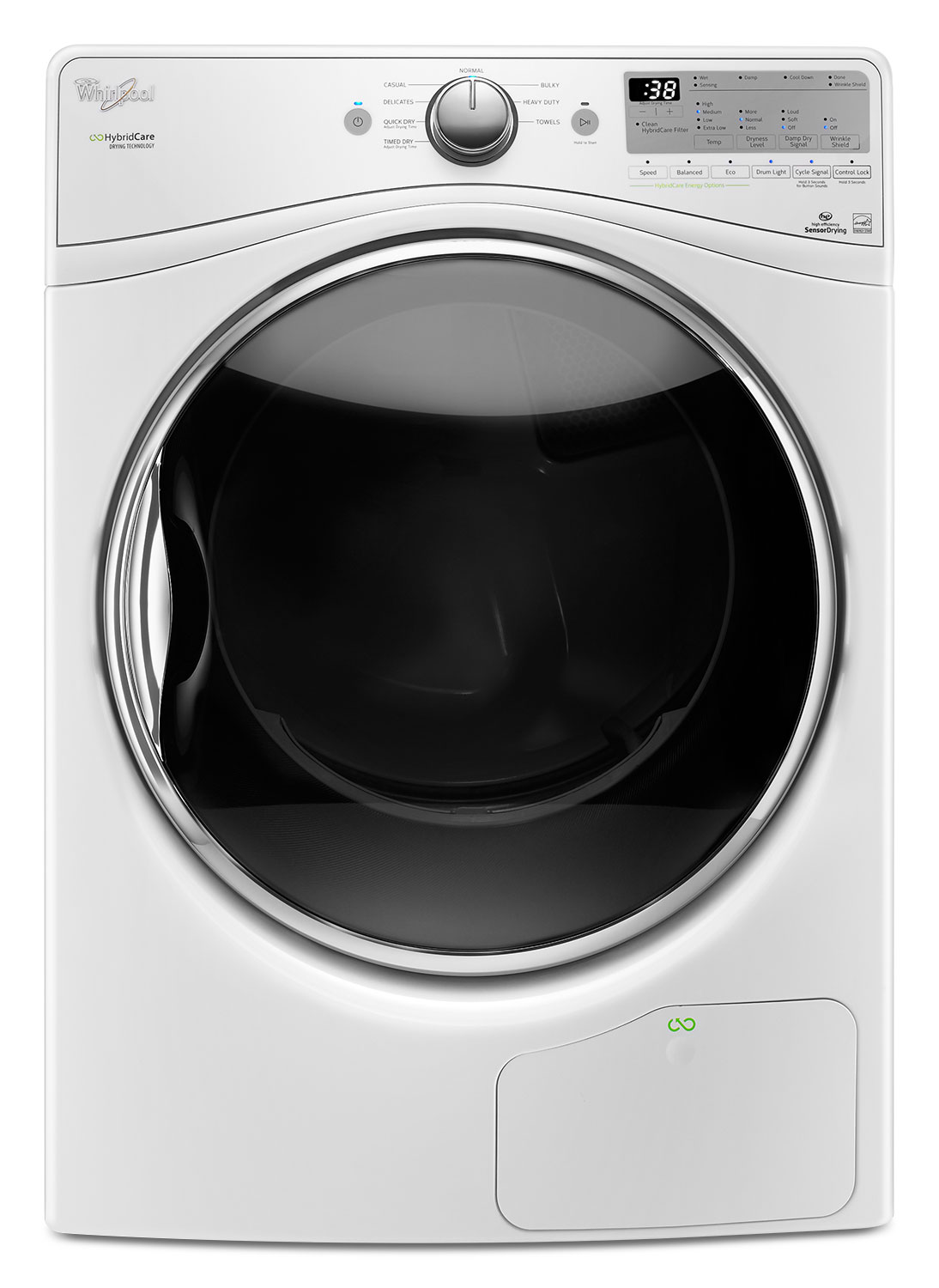Washers and Dryers - Whirlpool 7.4 Cu. Ft. Ventless Electric Dryer – YWED9290FW