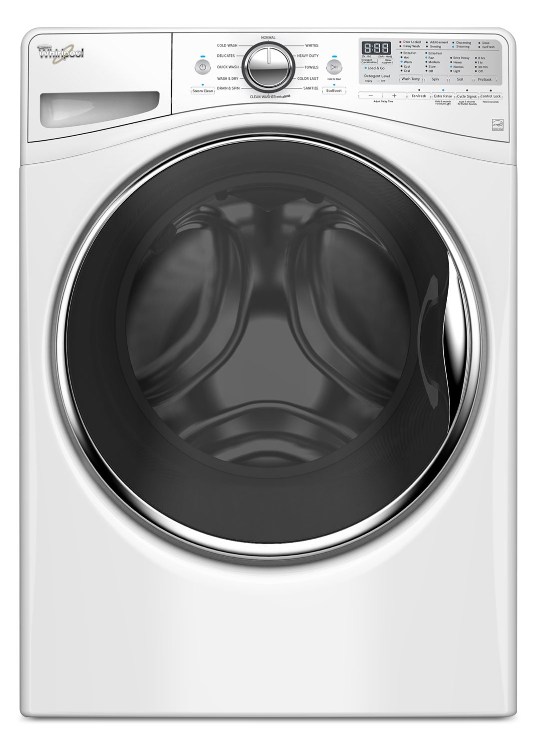 Whirlpool 4.8 Cu. Ft. Front-Load Washer – WFW9290FW