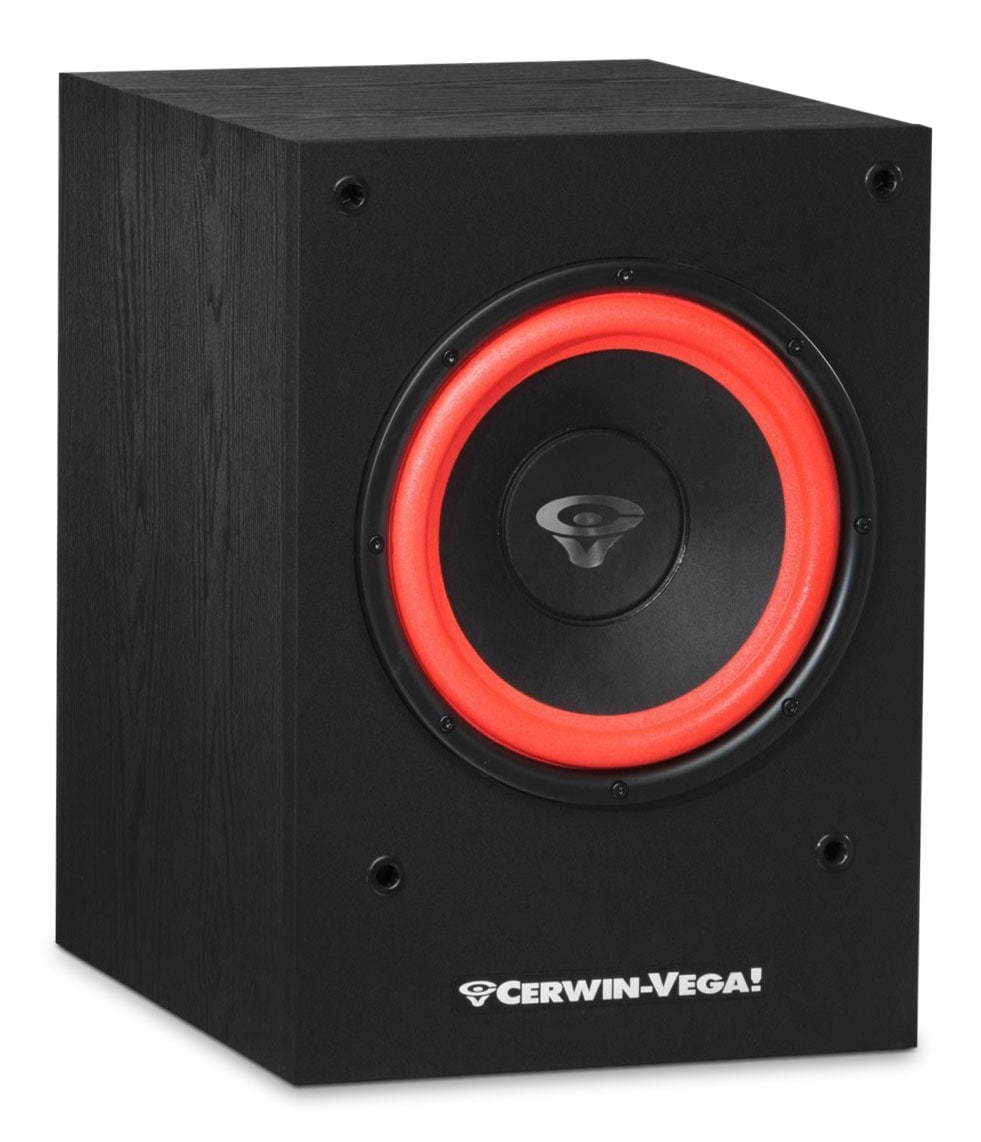 "Sound Systems - Cerwin-Vega 10"" Powered Subwoofer - SL-10S"