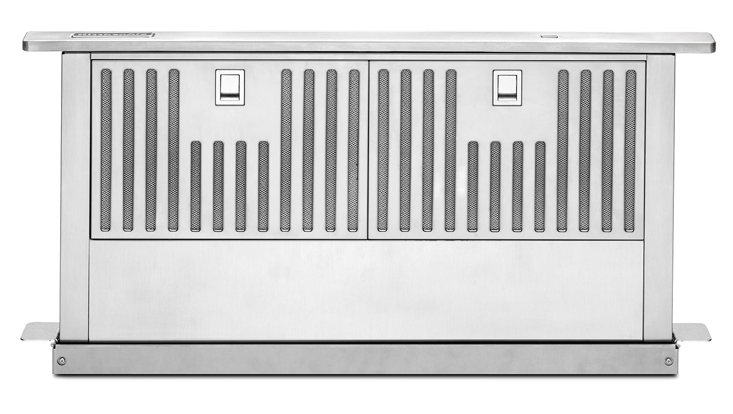 "Cooking Products - KitchenAid Stainless Steel 30"" 600 CFM Retractable Downdraft Vent - KXD4630YSS"