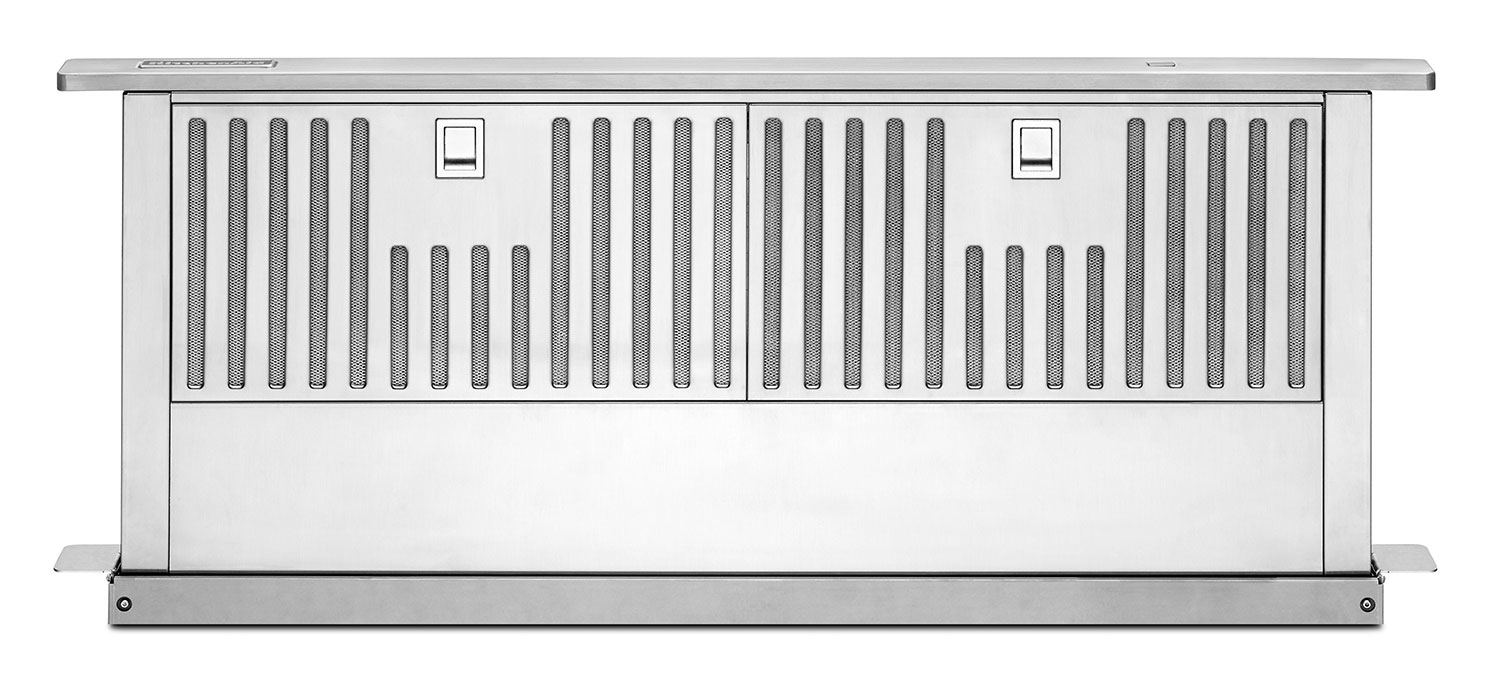 "KitchenAid Stainless Steel 36"" 600 CFM Retractable Downdraft Vent - KXD4636YSS"