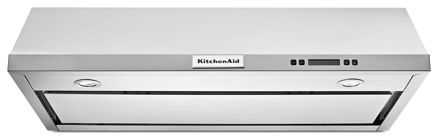 Cooking Products - KitchenAid Stainless Steel 600 CFM Island-Mount Range Hood - KVUB606DSS