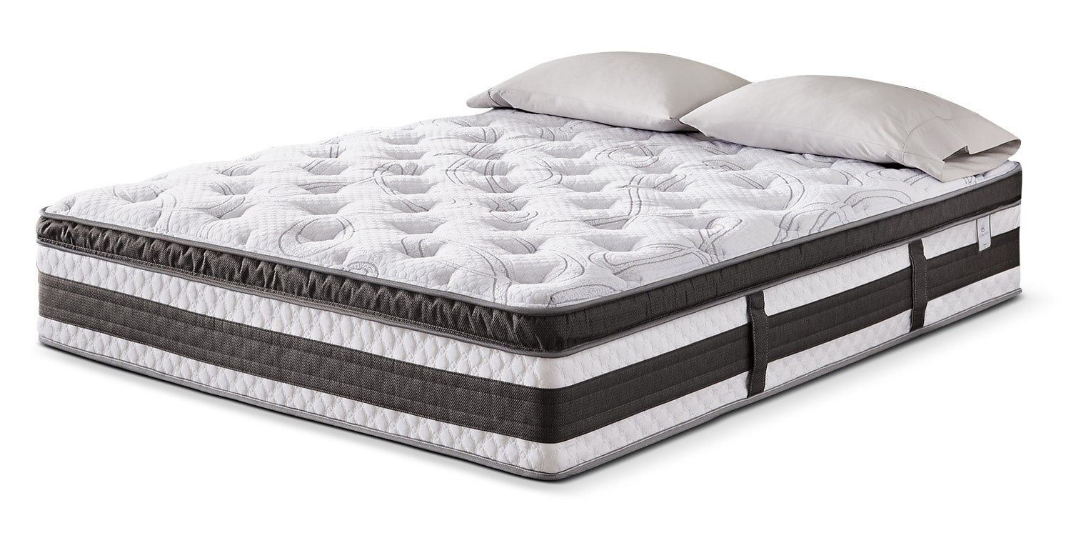 Mattresses and Bedding - Serta iCollection™ Kingsport Euro-Top Luxury Firm Queen Mattress