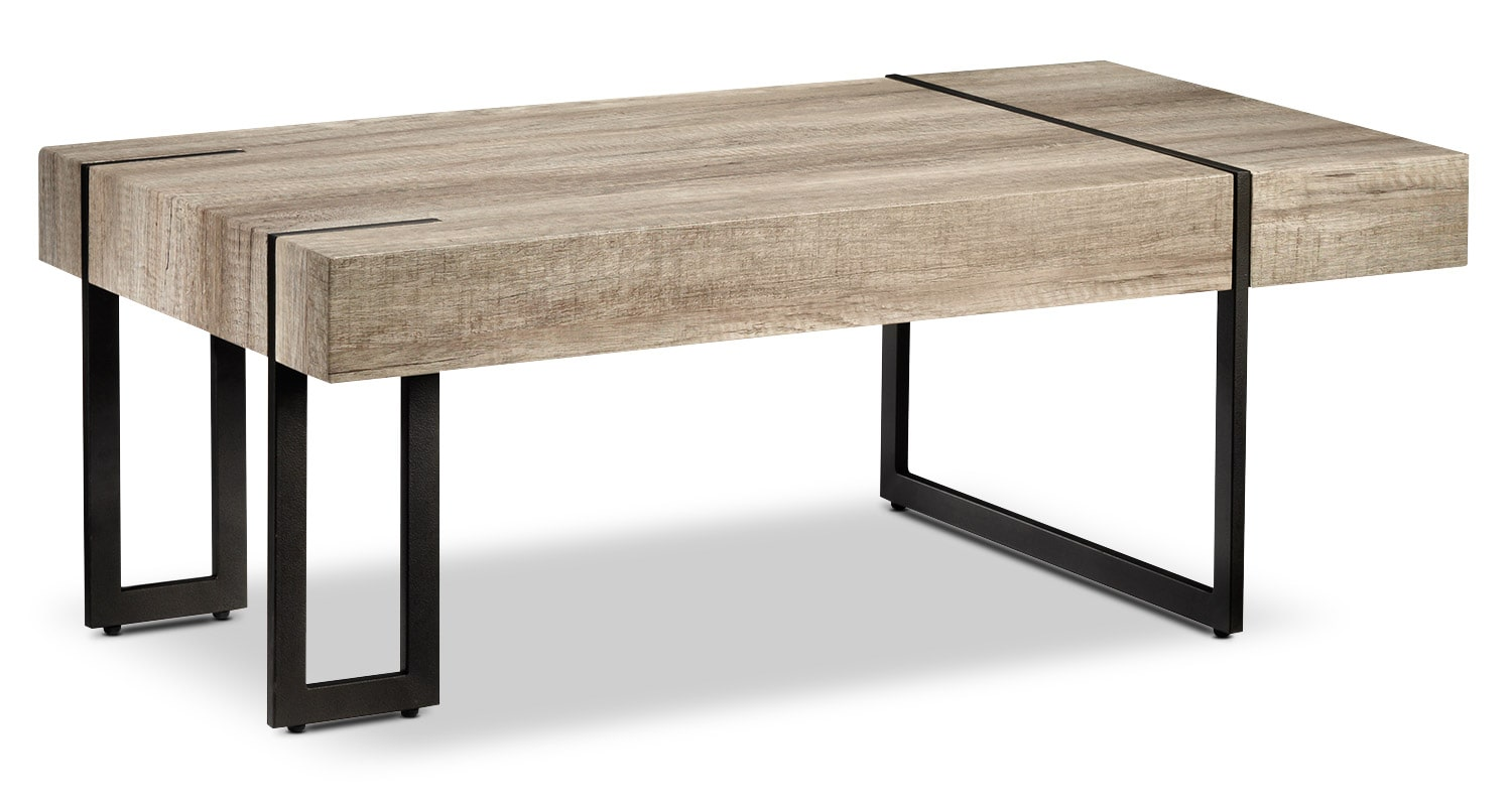 Accent and Occasional Furniture - Calvin Coffee Table - Beige