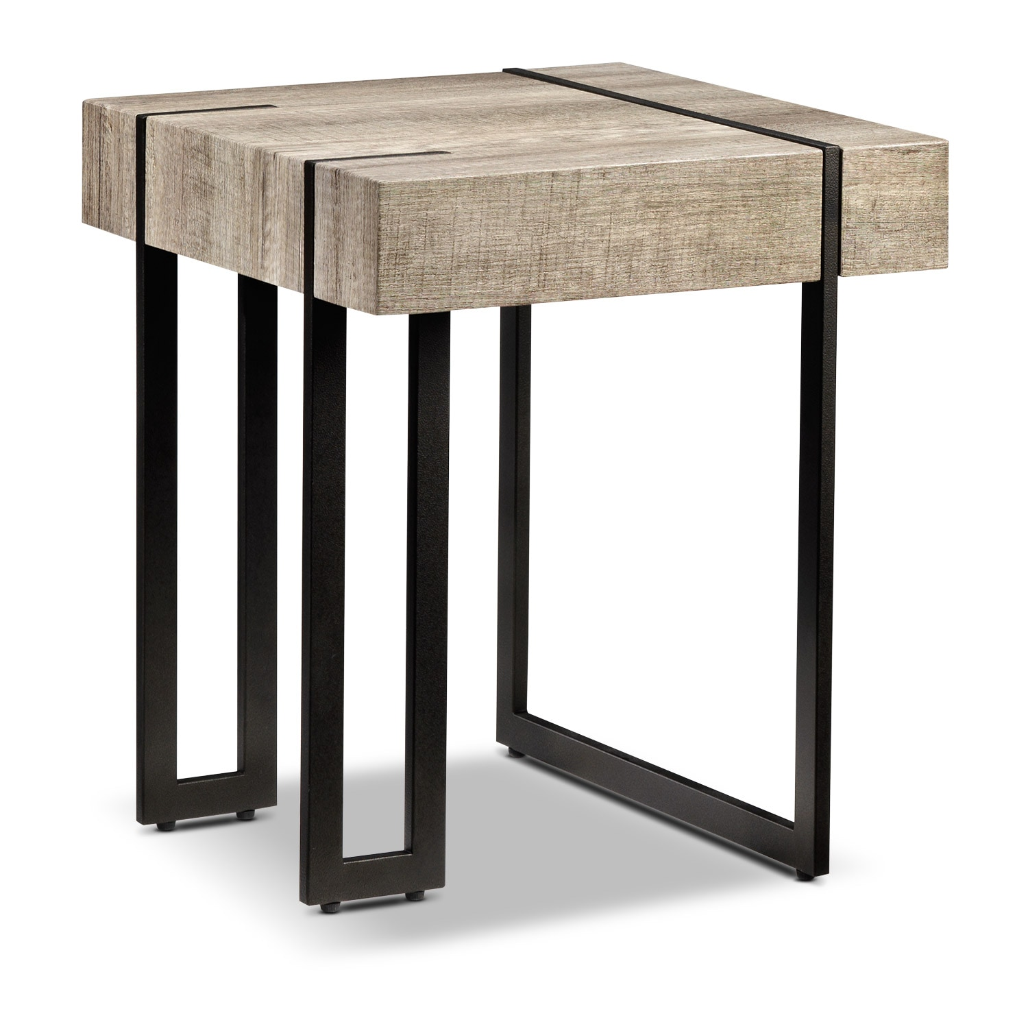 Accent and Occasional Furniture - Calvin End Table - Beige
