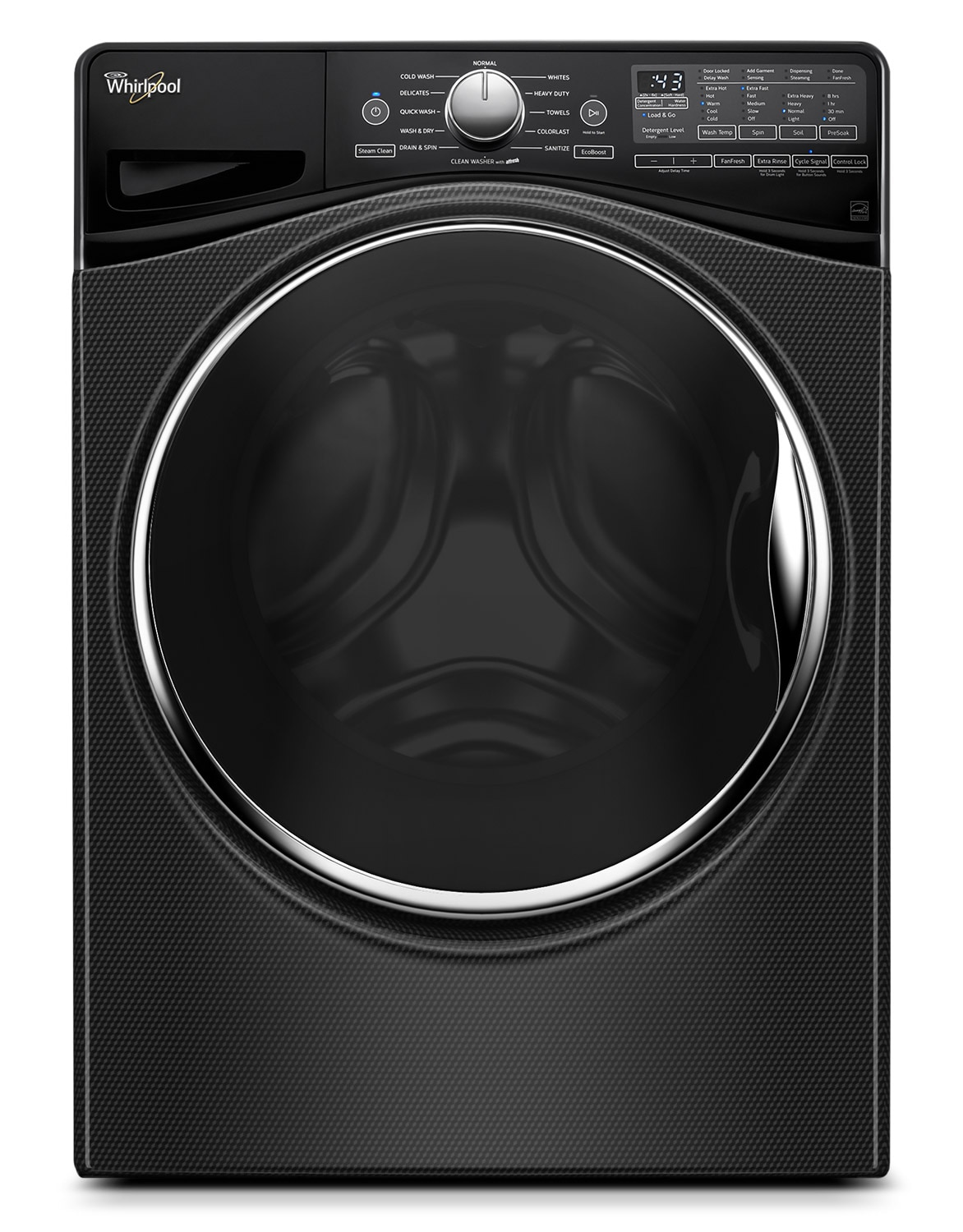 Whirlpool Black Diamond Front-Load Washer (4.6 Cu. Ft.) - WFW9290FBD