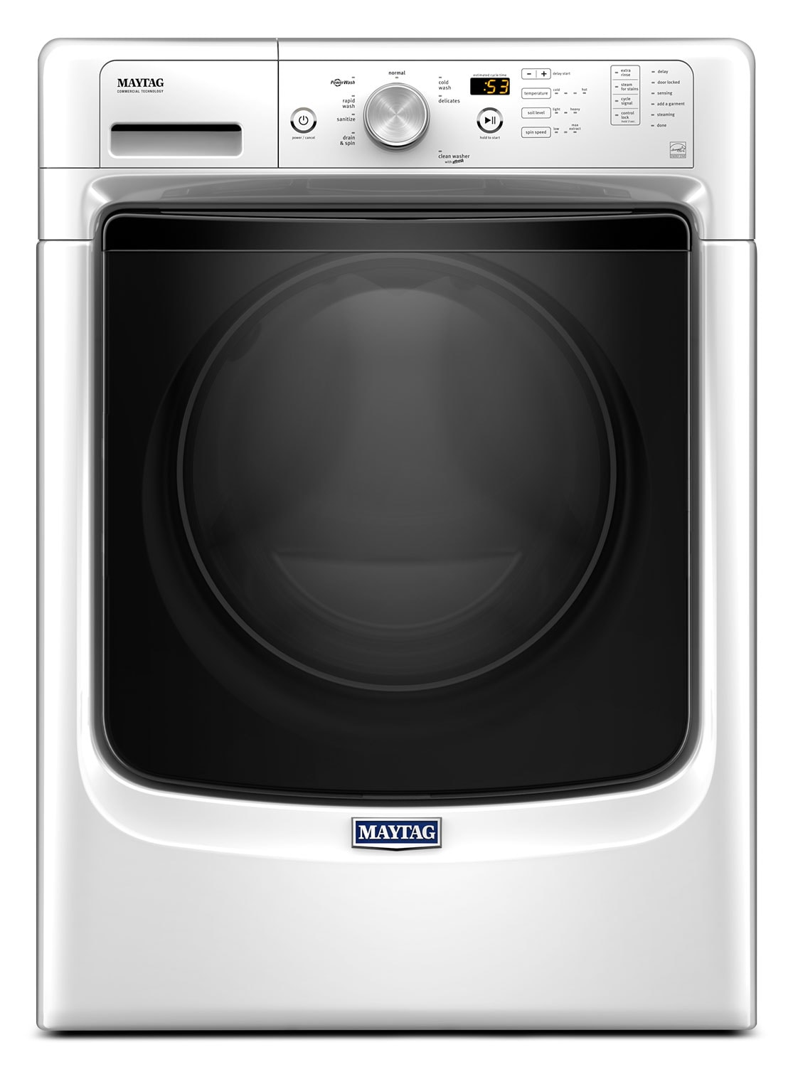 Maytag 5.2 Cu. Ft. Front-Load Washer – MHW3500FW
