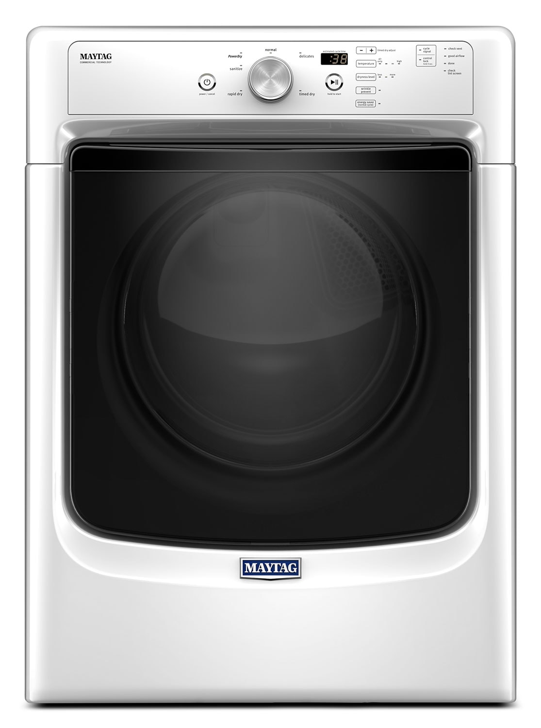 Washers and Dryers - Maytag 7.4 Cu. Ft. Electric Dryer – YMED3500FW