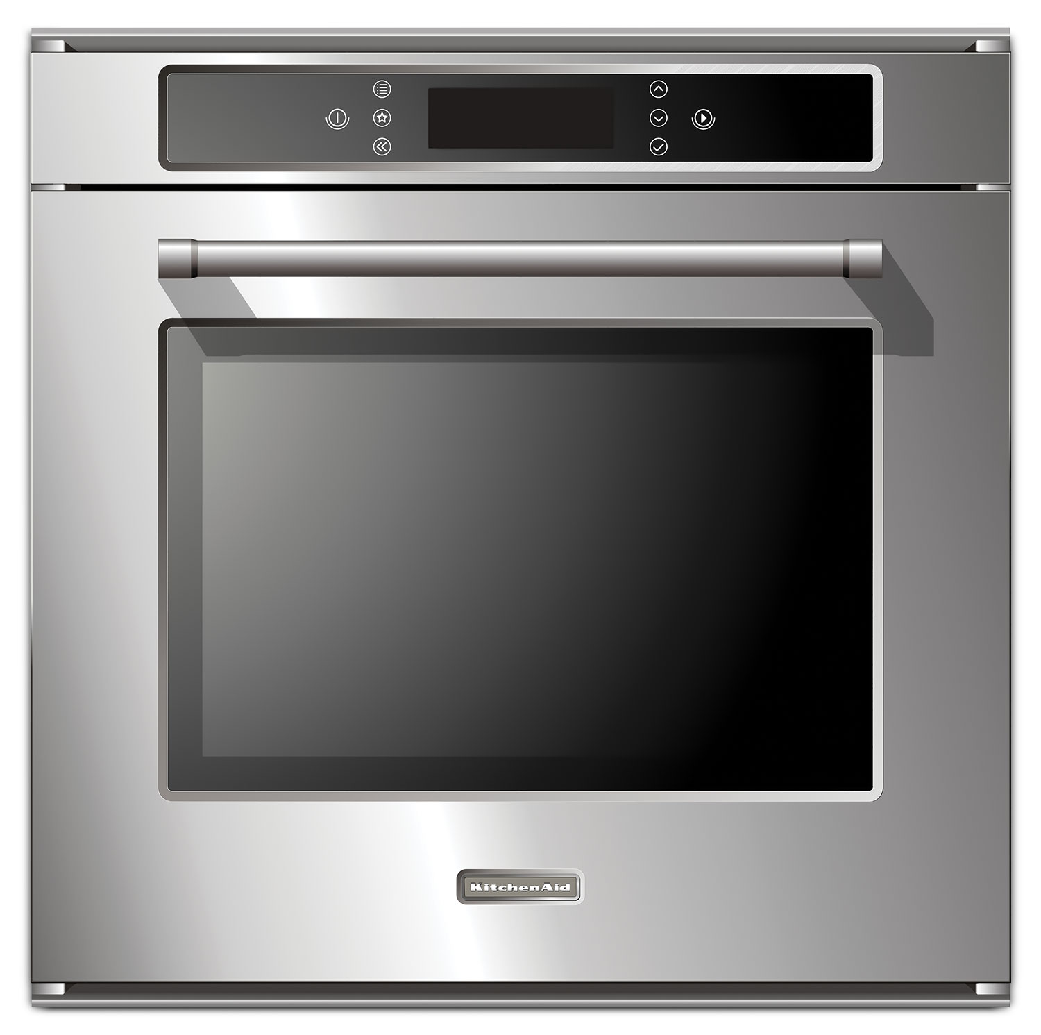 Cooking Products - KitchenAid Stainless Steel Convection Wall Oven (2.6 Cu. Ft.) - KEBC149BSS